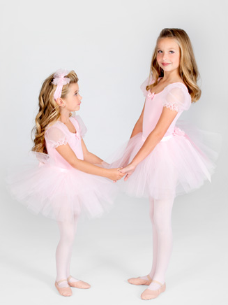 Tutu With Satin Waistband - Style No AAD105C