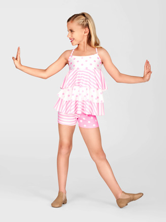 Child 3 Tier Camisole Top - Style No AAD122C