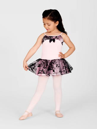 Child Floral Camisole Tutu Dress - Style No AAD125C