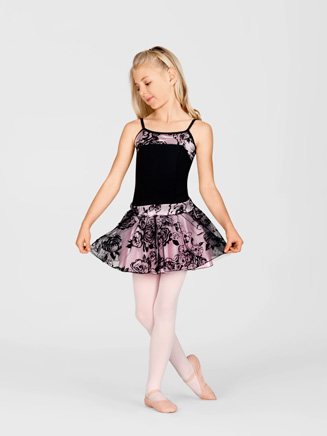 Child Floral Tutu Skirt - Style No AAD126C