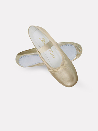Gold/Silver Ballet Shoes for Small Children - Style No B901