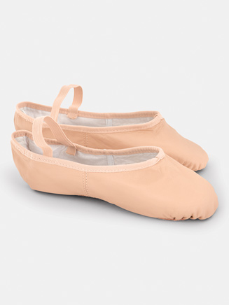Adult Full Sole Leather Ballet Slipper - Style No BA14
