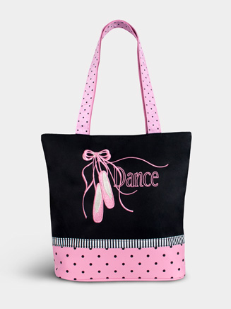 Pointe Shoe & Ribbons Tote - Style No BAL04