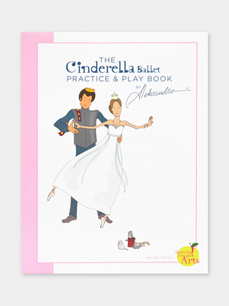 Cinderella Practice and Play Book - Style No BCINPP