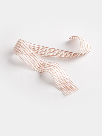 Stretching The Pointe Mesh Elastic - Style No BH317
