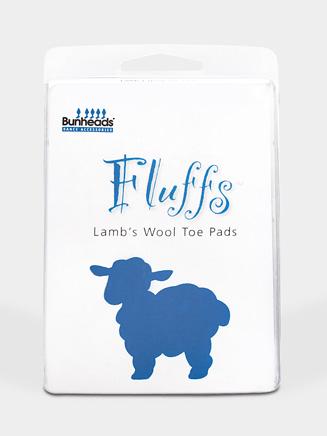 Bunheads Fluffs Lambs Wool Toe Pad