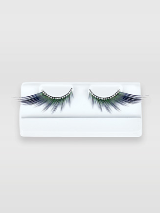 Winged Lashes with Rhinestone Band - Style No BH607