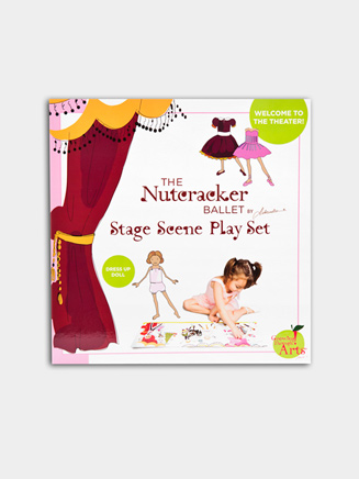 Nutcracker Stage Scene and Play Set - Style No BNUTSC