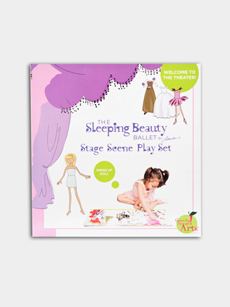 Sleeping Beauty Stage Scene Play Set - Style No BSBSC