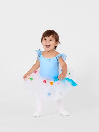 Little Miss Princess Tutu Birthday Sprinkles Petite 7