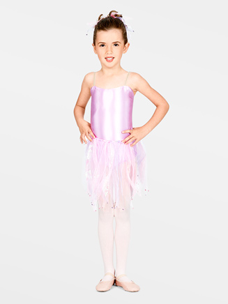 All About Dance Child Ribbon Tutu Skirt with Scrunchie