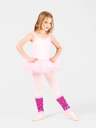 Child Sequin Trim Tutu - Style No C28222