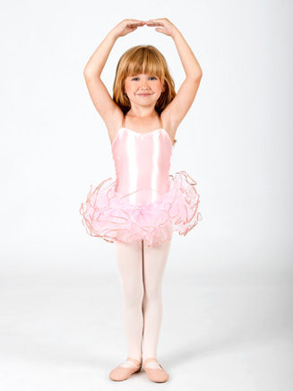 Toddler Sequin Trim Tutu - Style No C28222S