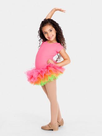 All About Dance Rainbow Sherbet Organza Tutu