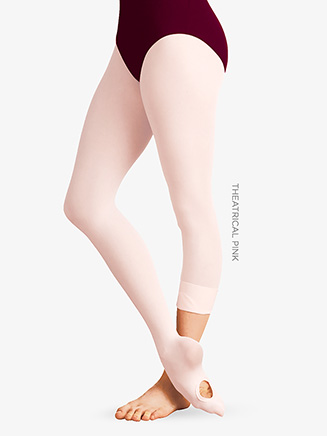 Girls Convertible Total Stretch Dance Tight - Style No C31