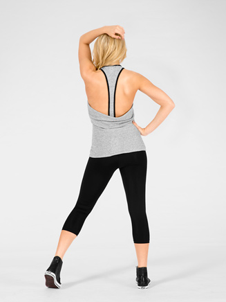Adult Open Back Layering Tank Top - Style No C4854