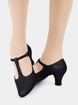 "Adult 2"" Heel T-Strap Character Shoe - Style No C700"