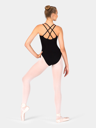 Adult Camisole Leotard with Double Strap - Style No CC123