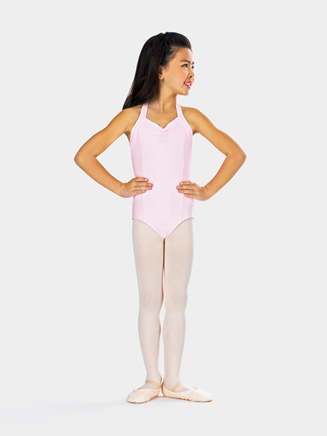 Girls Princess Seam Halter Dance Leotard - Style No CC300C