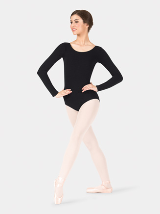 Adult Long Sleeve Dance Leotard - Style No CC450
