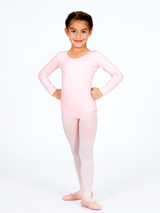 Girls Long Sleeve Dance Leotard - Style No CC450C