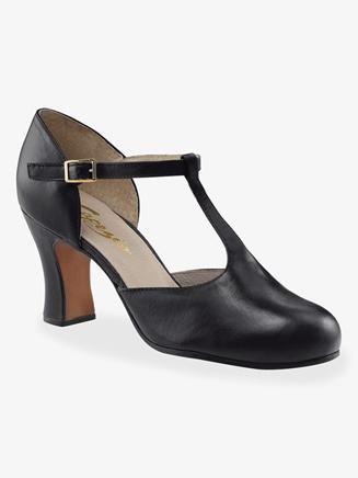 Capezio Adult 2.75 Heel T-Strap Character Shoe
