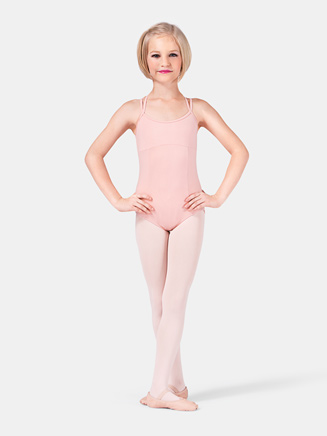 Girls Camisole Dance Leotard - Style No CL3667