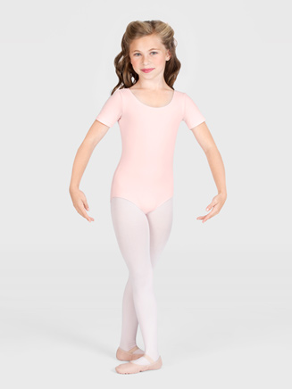 Girls Scoop Front Dance Leotard - Style No CL5402