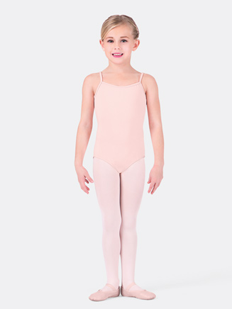 Girls Thin Strap Camisole Dance Leotard - Style No CL5407