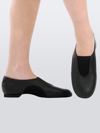 Capezio V-Jazz Low Child Slip-On Jazz Shoe