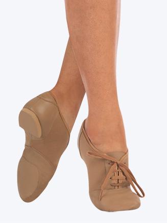 Capezio Mix-Lo Adult Lace Up Jazz Shoe