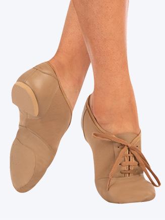 Capezio Mix-Lo Child Lace Up Jazz Shoe