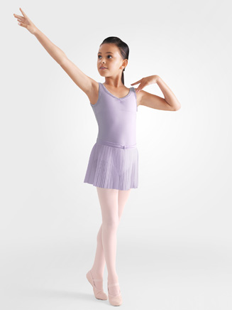 Bloch Child Pleated Skirt With Diamante Front