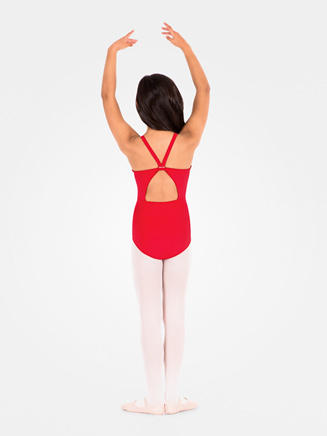 Child Keyhole Camisole Leotard - Style No D239
