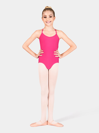 Girls Adjustable Camisole Dance Leotard - Style No D5100C