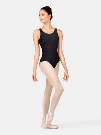 Adult Scoop Tank Dance Leotard - Style No D5101