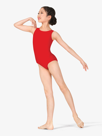 Girls Basic Tank Dance Leotard - Style No D5101C