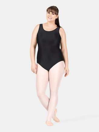 Adult Plus Size Tank Dance Leotard - Style No D5101W