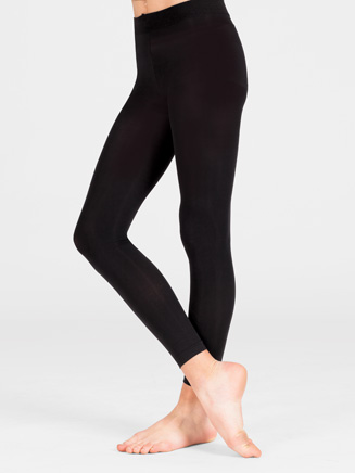Adult Ultrasoft Crop Dance Tight - Style No D9754