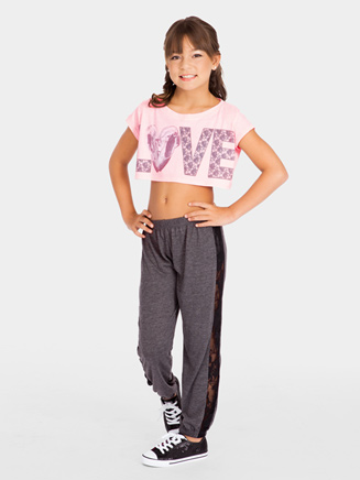 Child Love Crop Tee - Style No DA281C