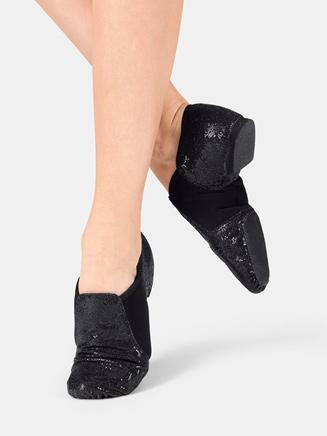 Adult Glitter Jazz Shoe - Style No DAZZLE