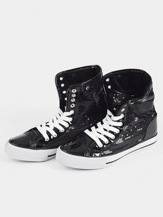 Sequin High Top Boot Sneaker - Style No DESTINY