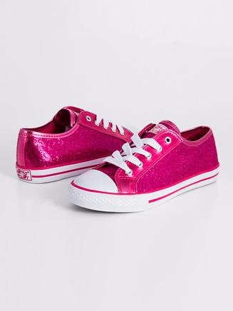 Gotta Flurt Child Glitter Low Top Sneaker