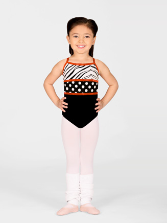 Girls Dottie Camisole Dance Leotard - Style No DOT100