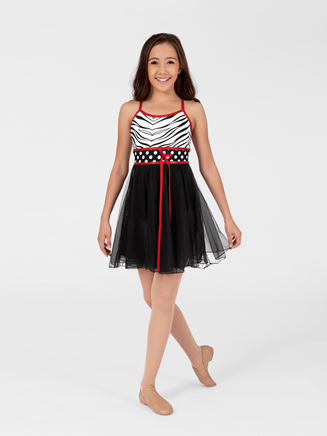 Child Dottie Empire Dress - Style No DOT400