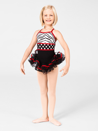 Child Dottie Tutu Leotard - Style No DOT800