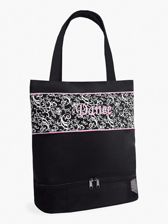 "Damask Pattern ""Dance"" Tote Bag - Style No DSK02"