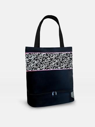 Sassi Damask Pattern Tote Bag