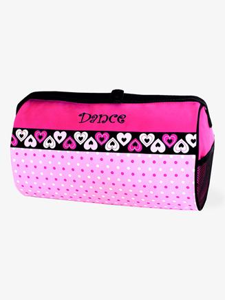Sassi Dotz n Hearts Pattern Dance Duffle Bag