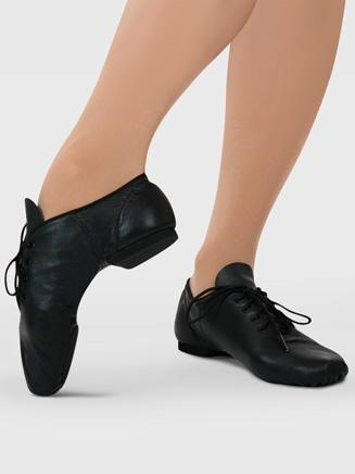 """E-Series"" Child Lace Up Jazz Shoe - Style No EJ1C"